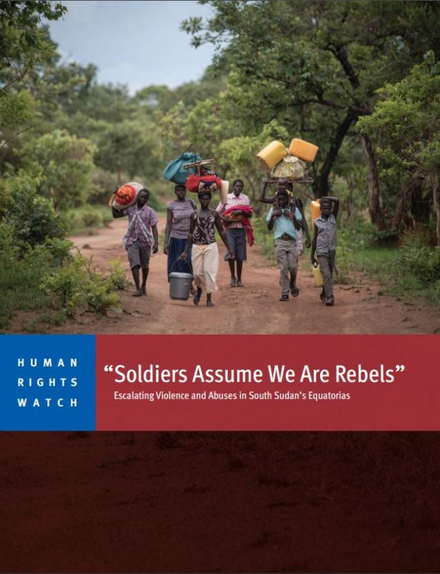 HRW - South Sudan