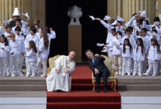 Colombia - Pope Francis