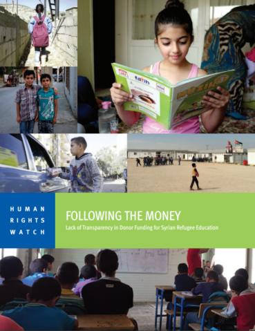 HRW - Following the Money