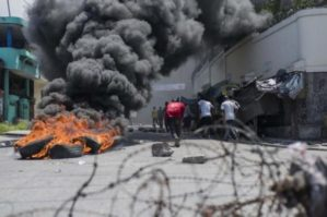 Haiti - Protesters Clash