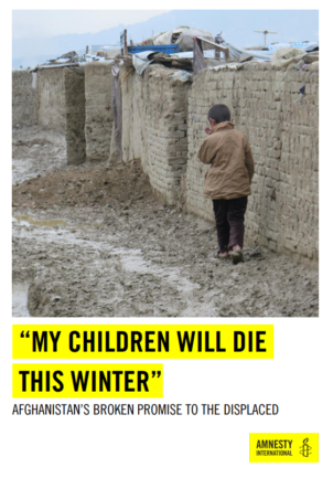 Amnesty International - My Children Will Die This Winter
