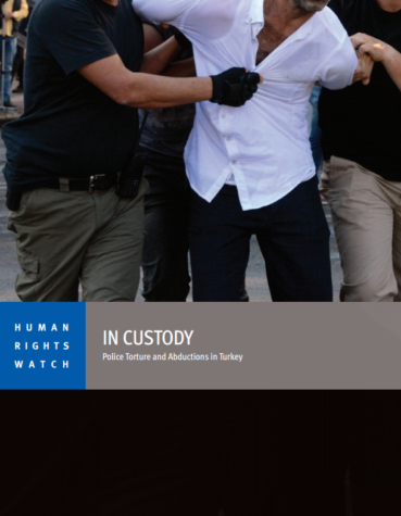 HRW - In Custody