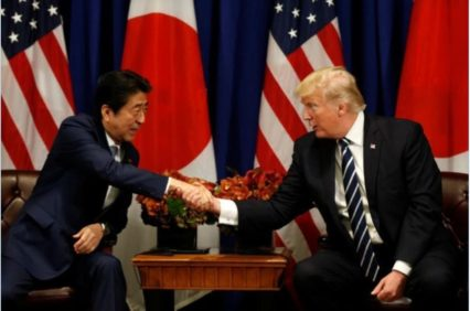 Japan - PM Abe and President Trump to