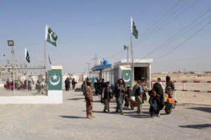 pakistan afghanistan border fence