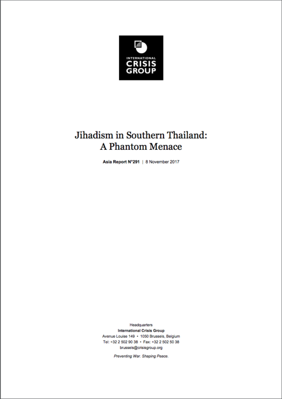 Crisis Group Jihadism report