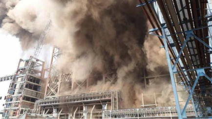 India explosion power plant