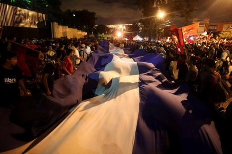 honduras opposition rejects poll