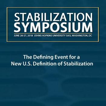Stabilization Symposium Webpage Block